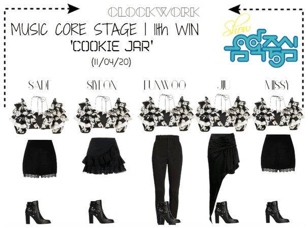 *CWK* | MUSIC CORE | 'COOKIE JAR' | 11th WIN