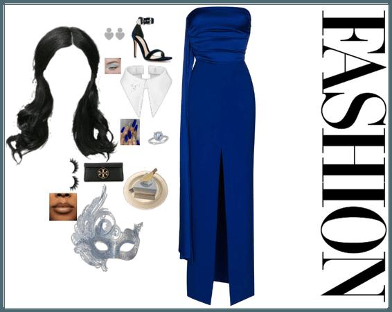 formal blue
