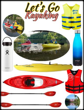 Kayaking with  @looksbylyla