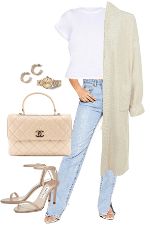 cosy date night outfit