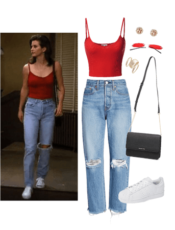 Monica Geller Inspired Outfit
