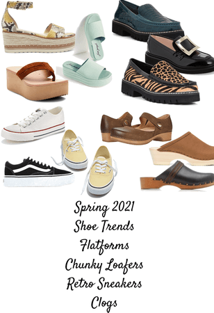 shoe shopping list for me
