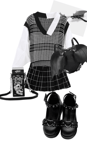 Mall goth outfit <3