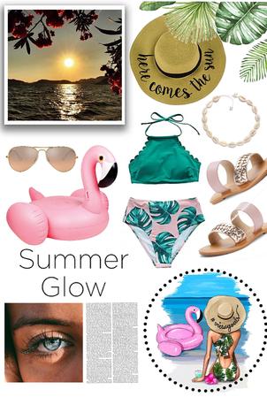 Summer glow🦩🌊