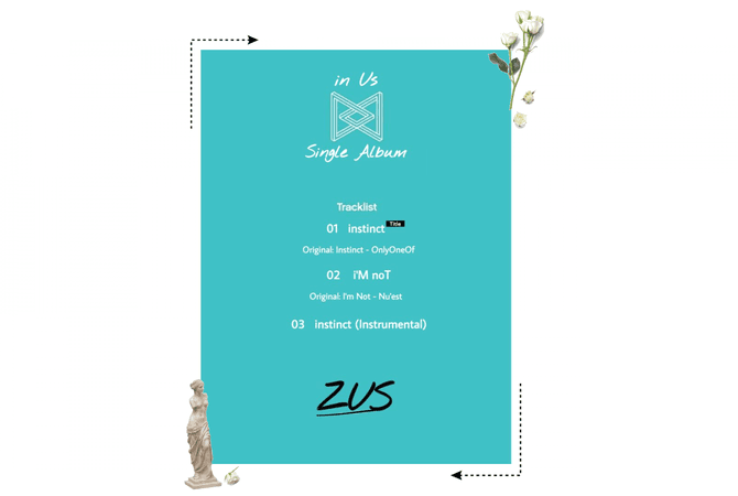 ZUS//Single Album: 'in Us' Tracklist