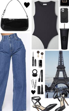 Wide Leg Jeans 🖤