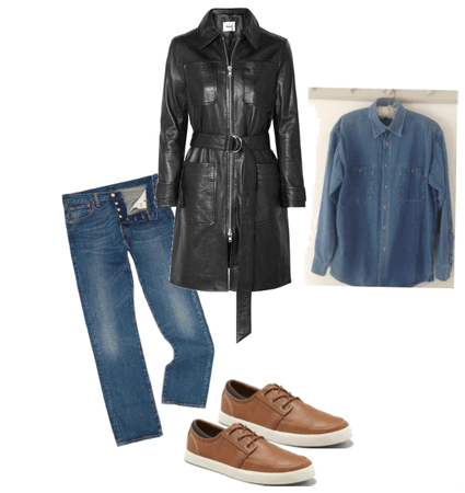 leather jacket trend