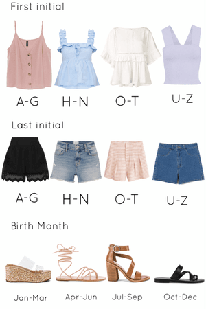 Build A Summer Outfit!