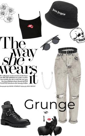 grunge gorl