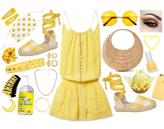 covid free yellow summer