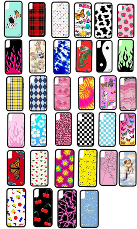 wildflower phone case collection