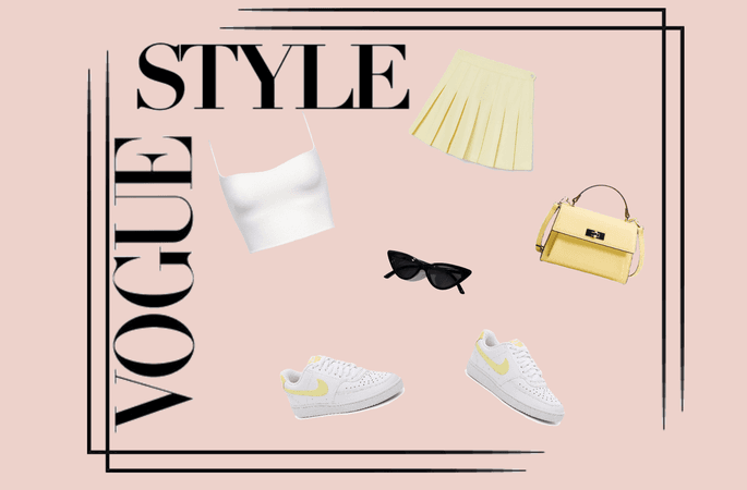 Trendy Yellow Outfit
