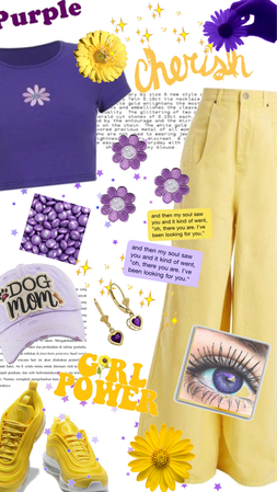 Purple and Yellow Power!!