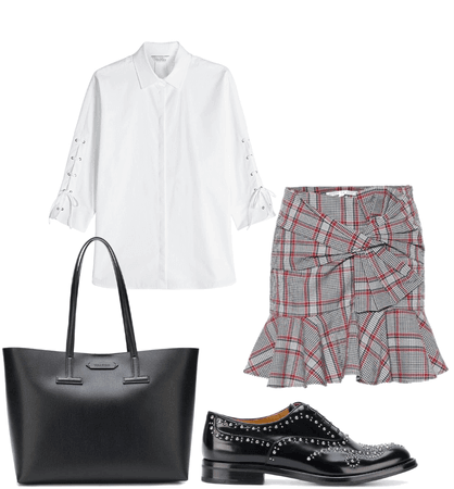 schoolgirl inspired casual