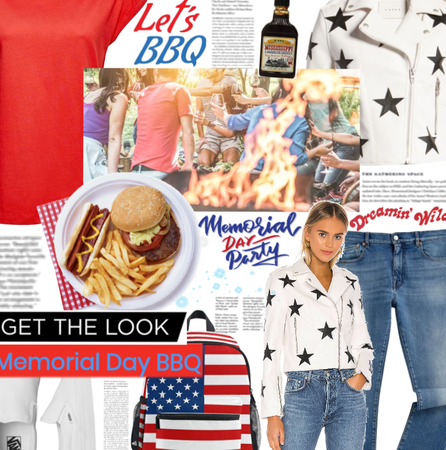 Let's BBQ In Red, White And Blue 🇺🇸🍔🌭