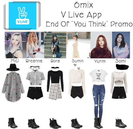 《6mix》V Live App: End Of 'You Think' Promo