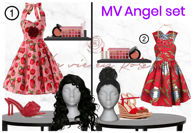 Eclipse's 'La Vie en Rose' Angel MV Outfit set