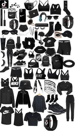 black Nike ⚫️✔️