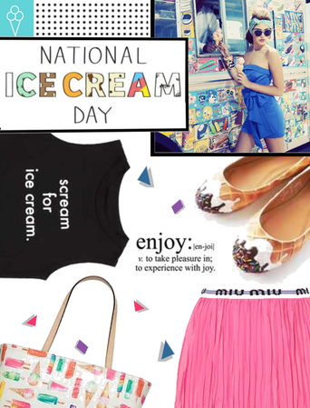 National Ice Cream Day 7/15/18