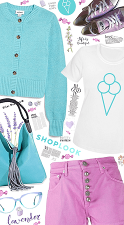 Lilac and Turquoise - Favorite Colors!!!