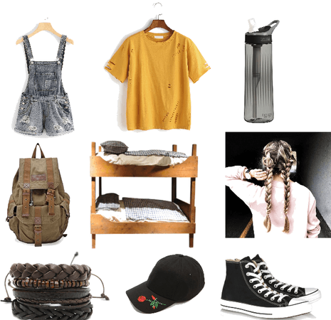 sleepover camp outfit