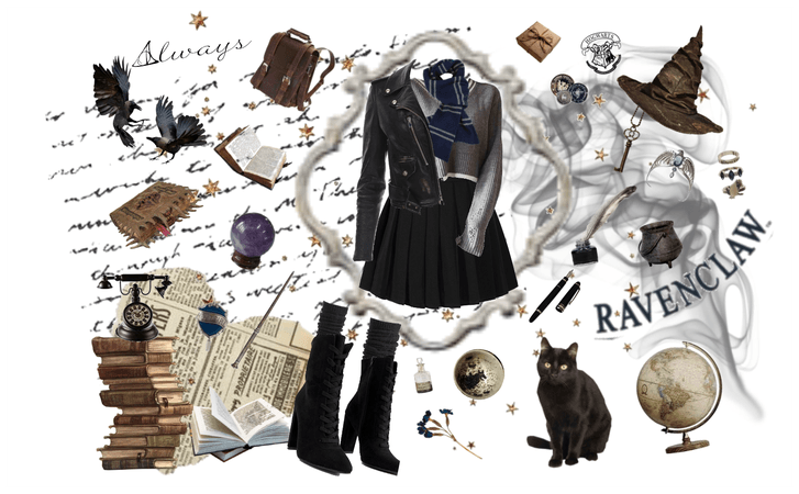 ravenclaw style.