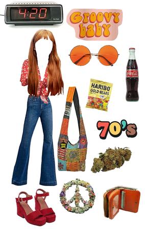 hippie 🧡🌈🌸🌞