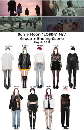 """Sun & Moon 𝐌𝐀𝐃𝐄 Series """"LOSER"""" M/V Group + Ending Scene"""