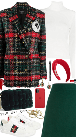 Modern Plaid Look