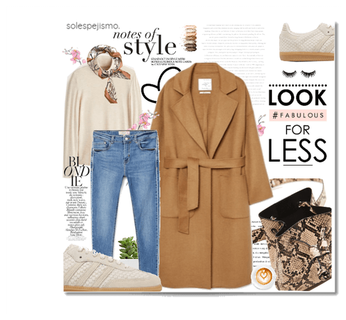Camel Coat & Trendy Snake Prints