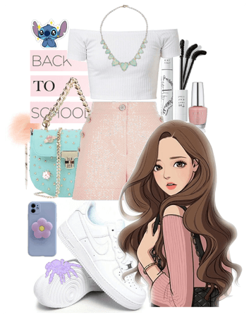 Back to school: girly girl