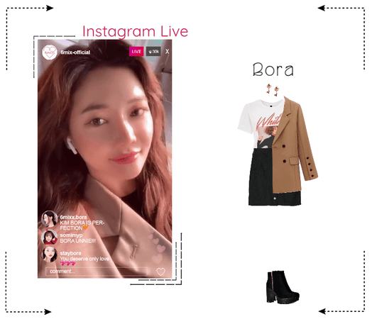 《6mix》Instagram Live - Bora