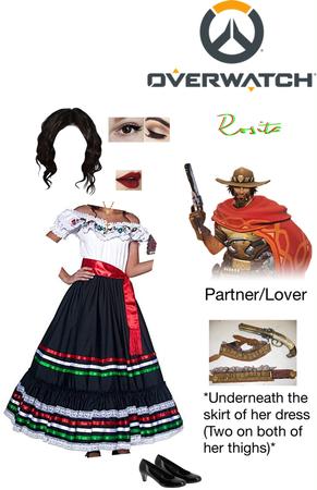 Overwatch OC: Rosita