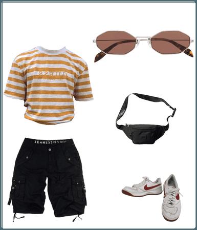young fashion boy