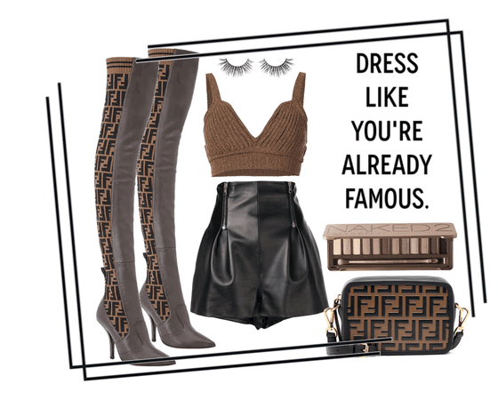 Dress like you're already famous