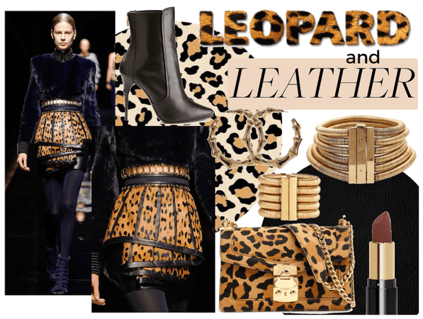 Leopard and Leather Trend