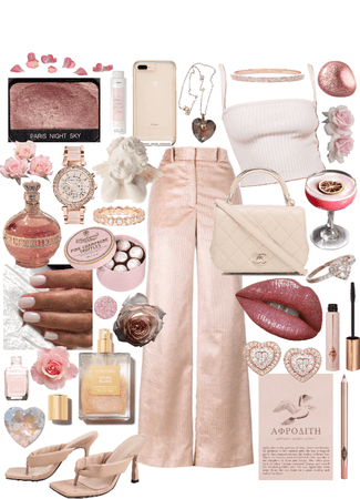 pink champagne nude