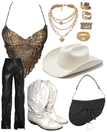 cowgirl goes out