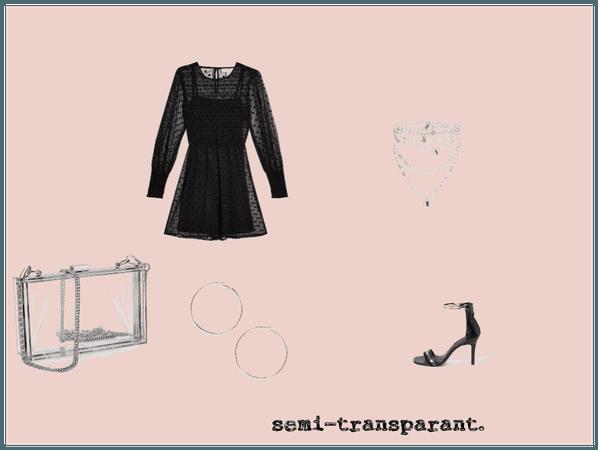 semi transparant