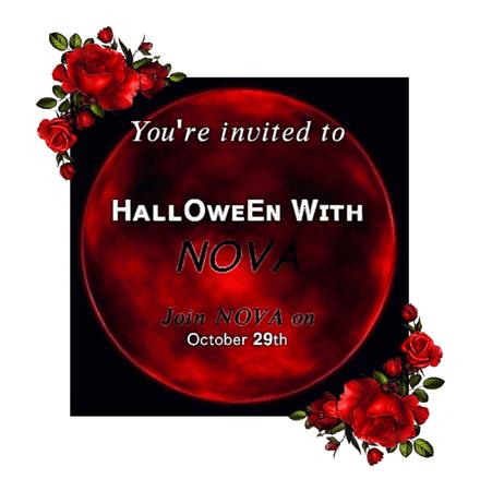-NOVA- Halloween Celebration Announcement