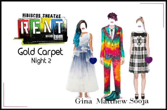 Hibiscus Theatre RENT Gold Carpet Night 2 HVST