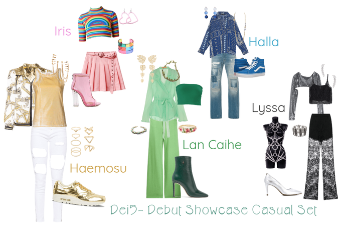 Dei5 Debut Showcast Casual Set