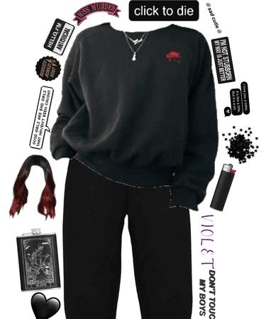 black fit for Violet🖤🖤