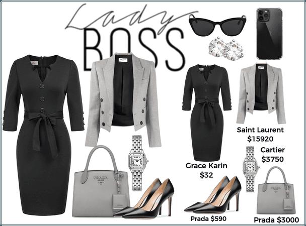 The CEO wears Prada
