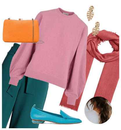 Colorful normcore