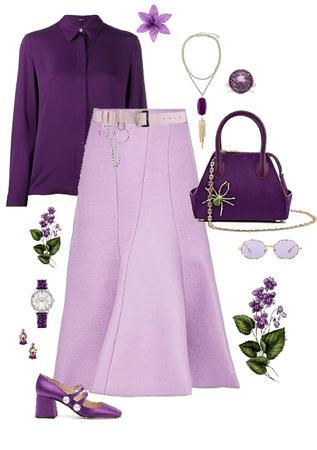 Green violet