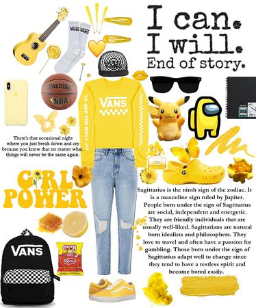 Yellow+Vans