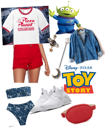 Disney Bound: Toy Story Pizza Planet