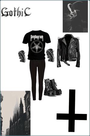 Gothic metalhead