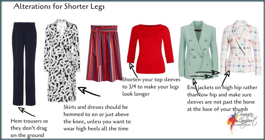 alterations for short legs
